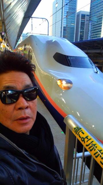 東京駅に向かっております…